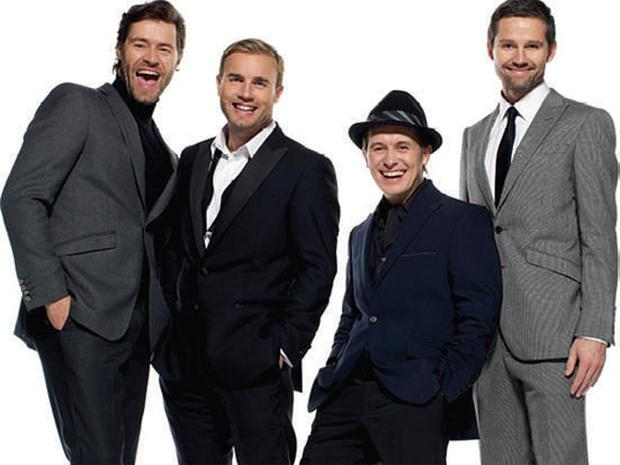 Riding high: Howard, Gary, Mark and Jason are enoying even greater success second time round with Take That