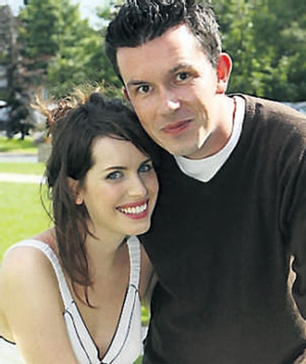 David Coffey with Holly White in Dan and Becs