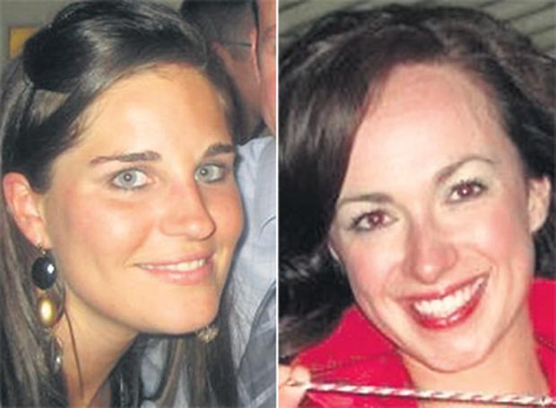 Dr Jane Deasy (left), from Rathgar, Dublin, and Dr Eithne Walls, from Belfast, were aboard the plane that went missing between Brazil and France yesterday.