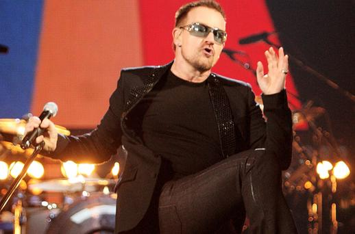 U2 have stepped up security for their concerts in Croke Park Photo: Getty Images