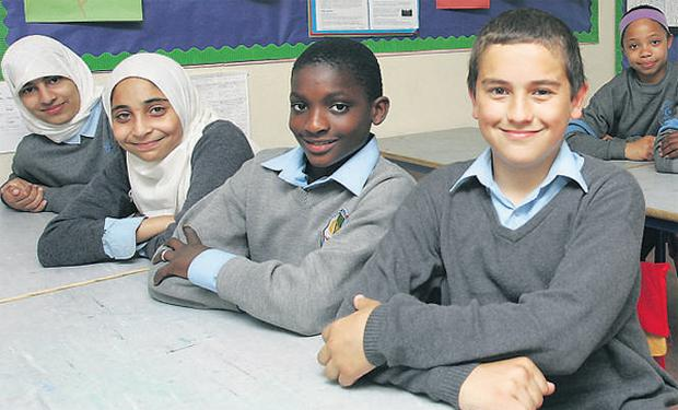 24c30e380a361 Where East meets West: pupils at the Muslim National School in Clonskeagh,  south Dublin