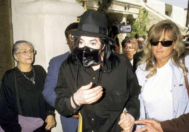 Debbie Rowe (pictured with Michael Jackson in 1996.