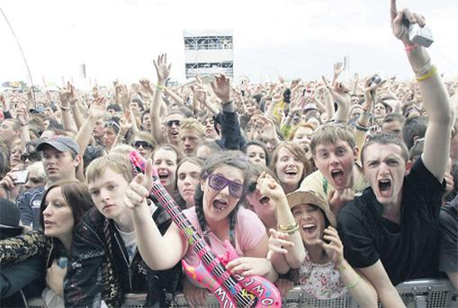 Fans at the Oxegen festival saw sunshine and rain at the weekend, but most importantly, some great talent on stage.
