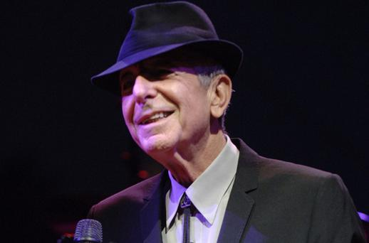 Palestinian supporters are planning to protest outside Leonard Cohen's Belfast concert. Photo: Getty Images