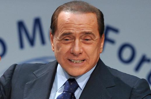 Italian prime minister Silvio Berlusconi has joked that he is 'no saint' as the scandal involving call girls deepens with the release of a recording with one of the escort girls in question. Photo: Getty Images