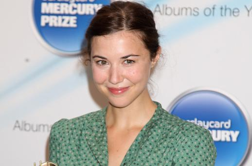Eyes on the prize: Lisa Hannigan. Photo: Getty Images