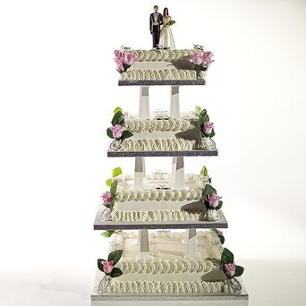Wedding cakes can cost over €1000. Photo: Getty Images