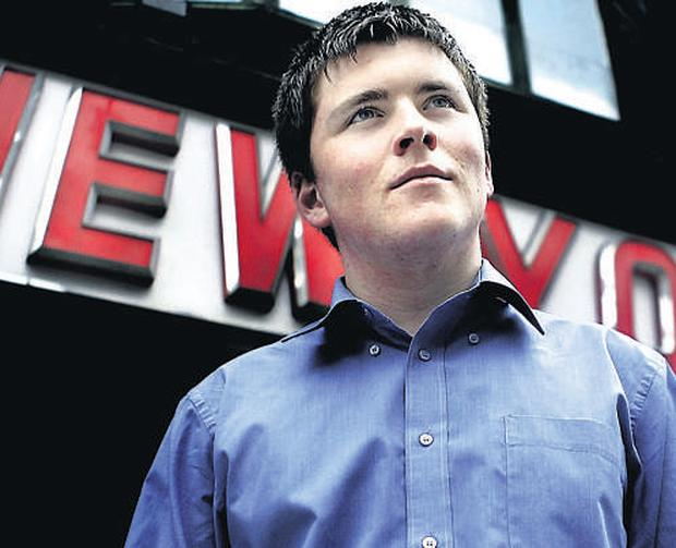 Limerick student John Collison who is heading to Boston later this month to take up a place at Harvard University.