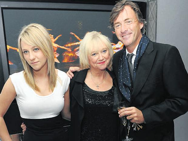 Chloe Madeley with her TV host parents Richard Madeley and Judy Finnigan