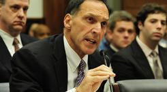 Dick Fuld, disgraced chief executive of Lehman Brothers, will be played in the drama by Corey Johnson. Photo: Getty Images