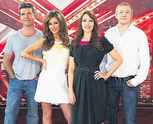 Sing me a sad song: the X Factor judges
