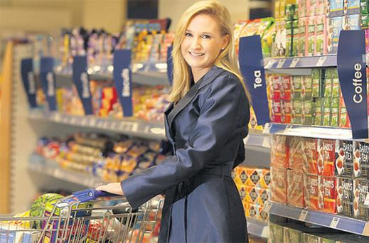 Gayle Dunne is pictured at her new D4 Stores outlet in the D4 Inn Hotel, Ballsbridge.