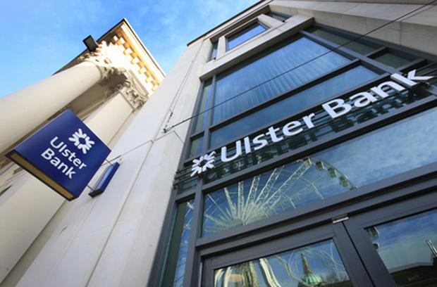 Ulster Bank headquarters in Belfast. Photo: Getty Images