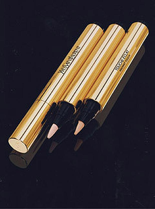 Yves Saint Laurent Touche Eclat, €35. A beauty icon, Yves Saint Laurent's Touche Eclat is make-up bag essential for women the world over, and is considered by many as the original and best under-eye concealer.