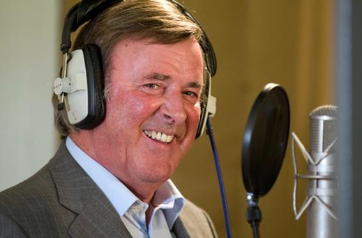 Man behind the mic: Terry Wogan. Photo: Getty Images