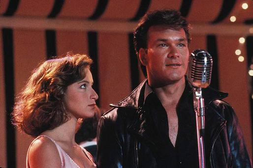 Swayze's breakthrough role was that of dance instructor Johhny Castle in 1987's 'Dirty Dancing'. Pictured here with co-star Jennifer Grey.