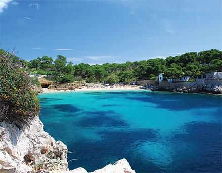 Majorca has a coastline of often exquisite natural beauty.