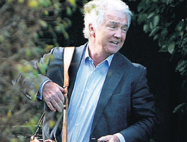 Former Anglo chief Sean FitzPatrick at his Greystones home earlier this year.