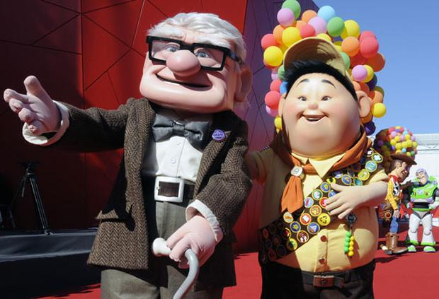 Pixar's Up, will be in cinema's from this week on. Photo: Getty Images
