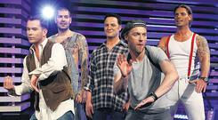 Boyzone's Late Late Show debut