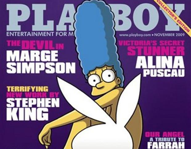 Marge Simpson appears on the cover of Playboy - Independent ie