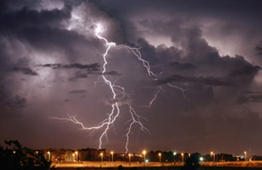 Thunder and lightning is on the way this bank holiday weekend, as we head into the start of summer