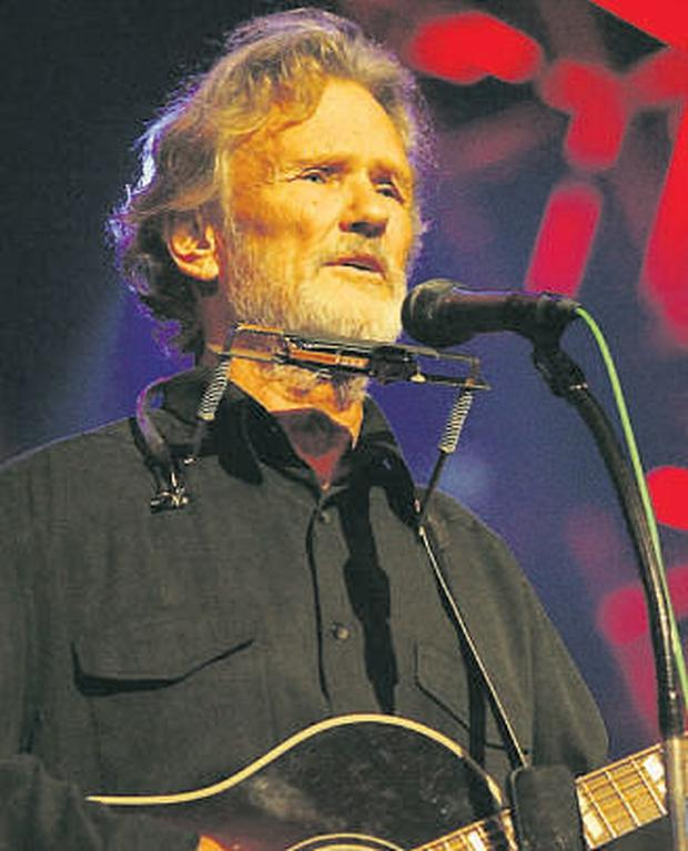 Kris Kristofferson's latest album features the track 'Sister Sinead', which pays tribute to Sinead O'Connor.