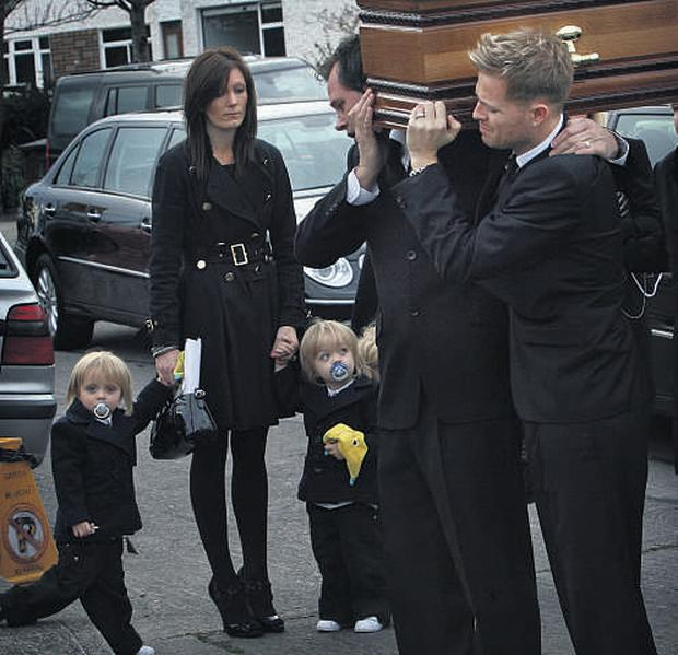 Westlife's Nicky in final farewell to his 'hero' dad