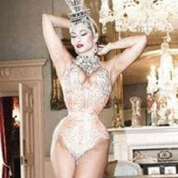 Immodesty Blaize appears in a new movie about burlesque