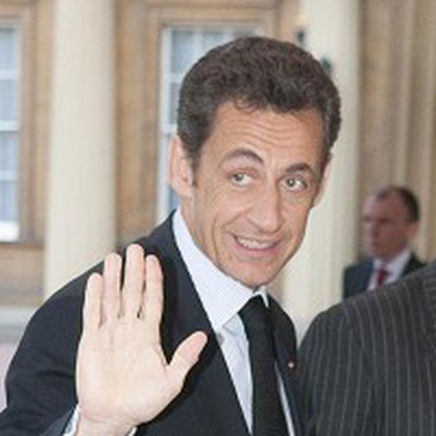 French President Nicolas Sarkozy said the nation's values have been forgotten