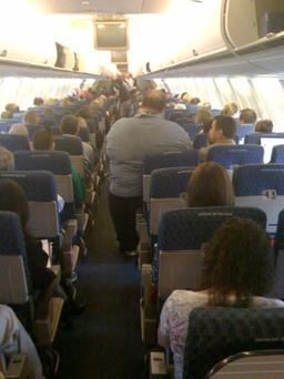 The image, posted on Flightglobal, is thought to be genuine Photo: Flightglobal