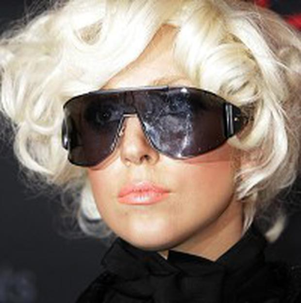 Lady Gaga is number one in the UK singles chart