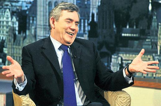 Gordon Brown indicated in an interview on BBC TV yesterday that Britain's general election will not take place until after the budget