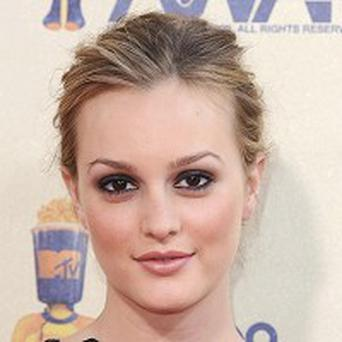 Leighton Meester has been spending time with Cyndi Lauper