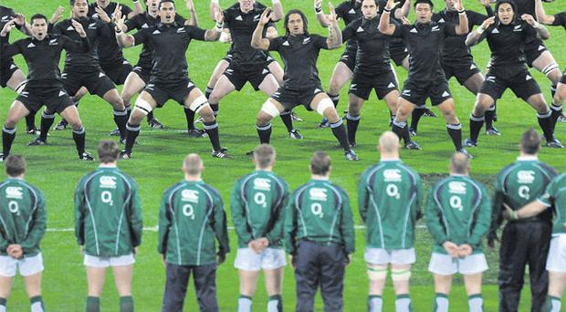 Declan Kidney will try to bring his team where no Irish side has gone before - to victory over the All Blacks