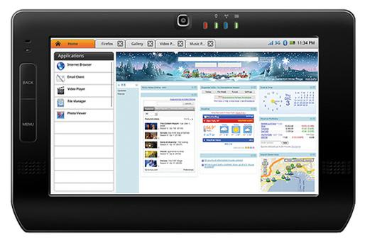 Freescale has a prototype tablet computer. Photo: Freescale