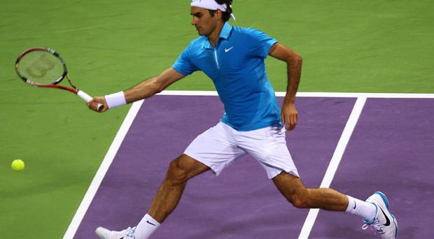 Roger Federer aims to improve this year Photo: Getty Images