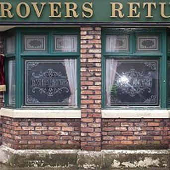 Filming has been suspended on Coronation Street as a result of heavy snow
