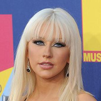 Christina Aguilera says her movie role was like going back to school
