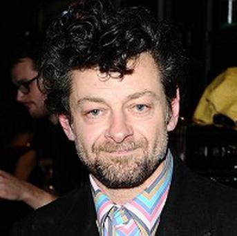 Andy Serkis arrives at the screening of Sex&Drugs&Rock&Roll at the Everyman Screen on the Green in Islington, London