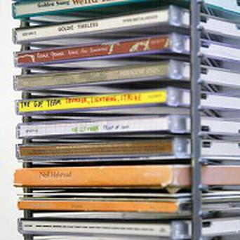 Album sales in the UK fell by 3.5 per cent in 2009