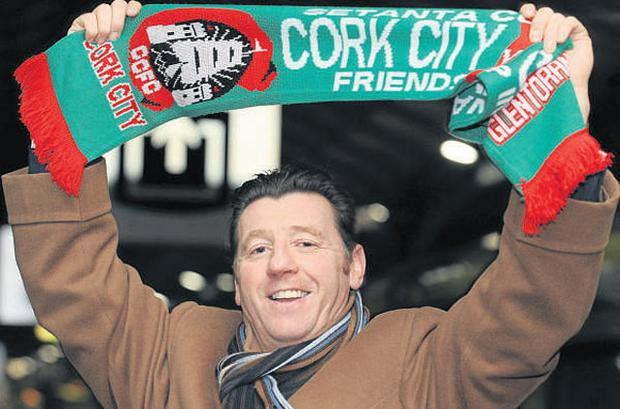 Roddy Collins, pictued here after being named as manager of Cork City, appears to be on collision course with Floriana