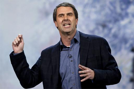 Robbie Bach, Microsoft's president of entertainment and devices. Photo: Getty Images