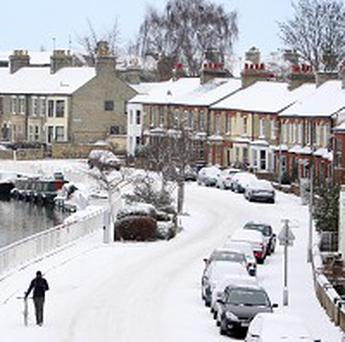 An error has been made over a bet on the recent snowfall