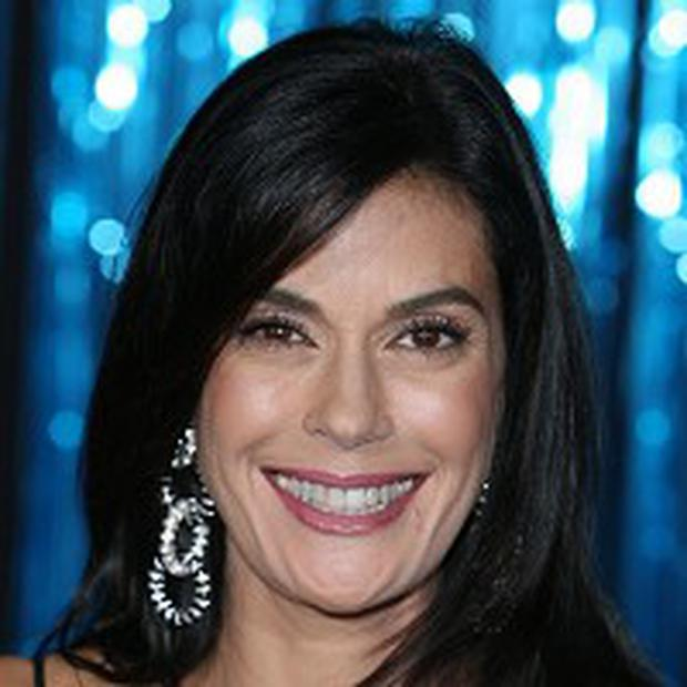 Teri hatcher on a stripper pole commit error