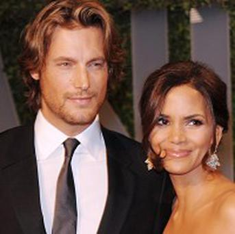 Model Gabriel Aubry and actress Halle Berry