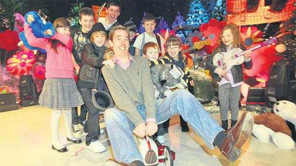 Ryan Tubridy's first ever 'Late Late Toy Show' has made him king of Irish TV.