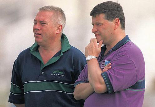 Recent comments by both men suggest there is no love lost between Paidi O Se and John O'Mahony