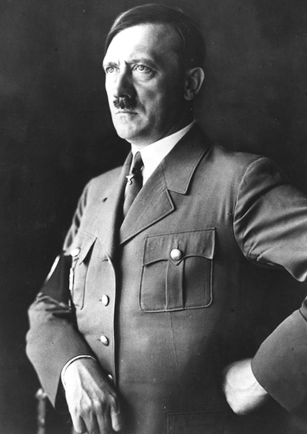 Oliver Stone, the director of JFK and W, wants to provide a 'more factual representation' of Adolf Hitler (pictured) and Josef Stalin. Photo. Getty Images