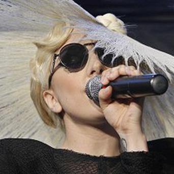 Lady Gaga swore during her MTV performance